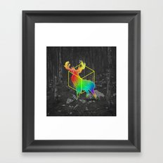 Catch The Reinbow Framed Art Print