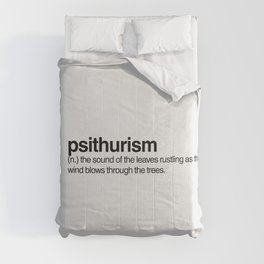 Psithurism Comforters