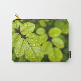 Plant Patterns - Green Scene Carry-All Pouch