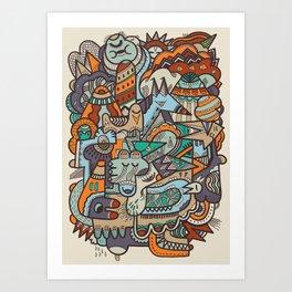 Punky Redux Art Print