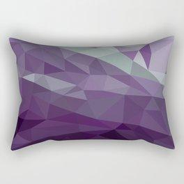 Purple Vectors Rectangular Pillow