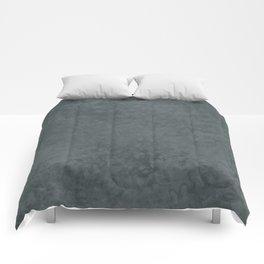 PPG Night Watch, Liquid Hues, Abstract Fluid Art Design Comforters