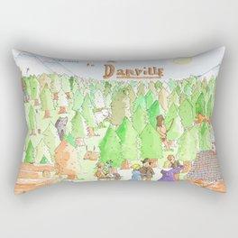 Locals Only- Danville Rectangular Pillow