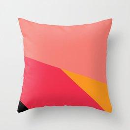 Colorful Yoga mat Throw Pillow