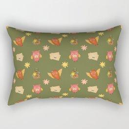 VALENTINE BIRDS Rectangular Pillow