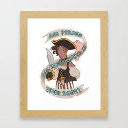 Ace Pirate Framed Art Print