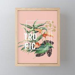 Tropic Paradise Framed Mini Art Print