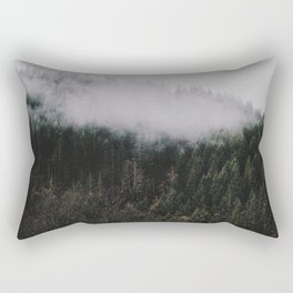 Forest Fog IV Rectangular Pillow