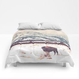 Bison & Tetons Comforters