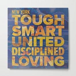 New York Tough Metal Print