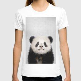 Panda Bear - Colorful T-shirt