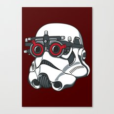 Stormtrooper Eyetest Canvas Print