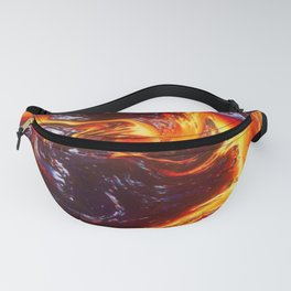Lava Abstract Art Fanny Pack