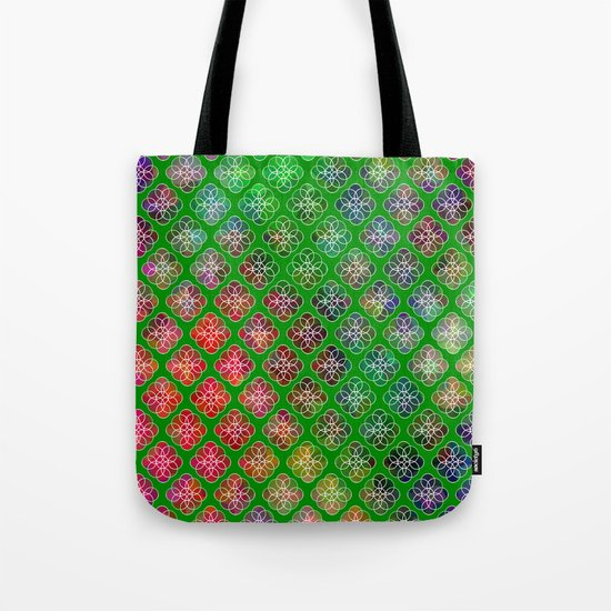 Peek A Boo Colors Tote Bag