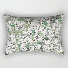 Galaxies of Green Rectangular Pillow