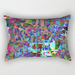 Displaced Reality Rectangular Pillow