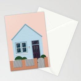 Newtown cottage, NZ Stationery Cards