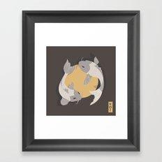 Koi fish 003 Framed Art Print