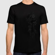 Enchanted forest Black LARGE Mens Fitted Tee