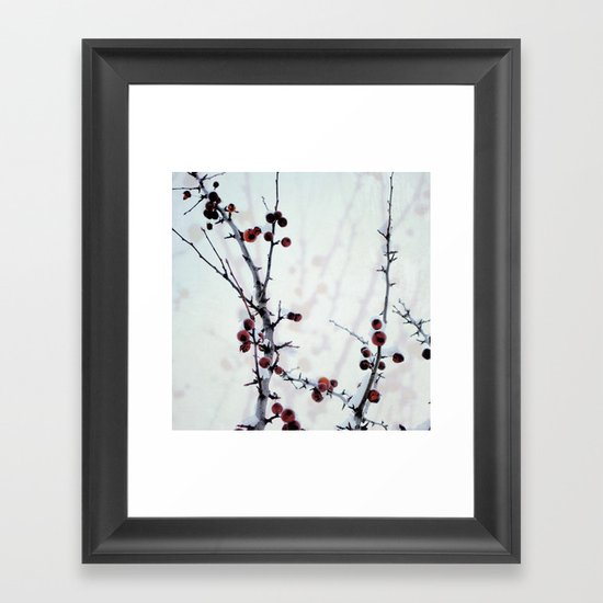 Red Freeze Framed Art Print