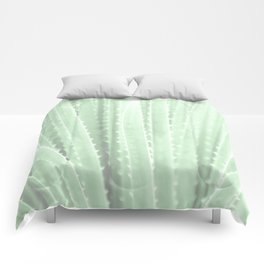 """Green Agave"" by Murray Bolesta! Comforters"