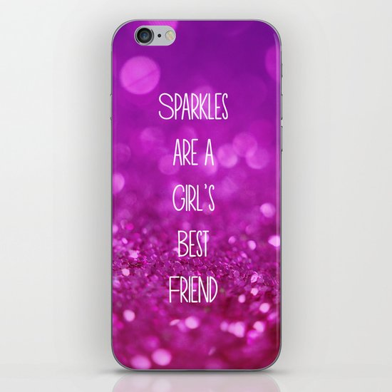 Sparkles are a Girl's Best Friend iPhone & iPod Skin