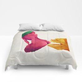 BUTT BITE Comforters