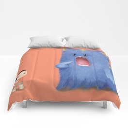 Hungry Monster Comforters