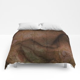 Cracked face Comforters