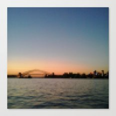 Sydney Harbour Pixels No.1 Canvas Print