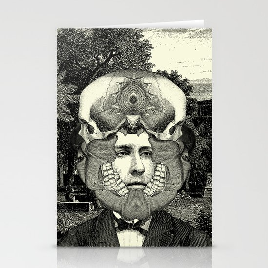 Lithography 3 Stationery Cards