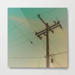 ElectricPole_0002 Metal Print