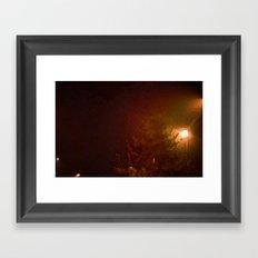 A Cold Winter Night Framed Art Print