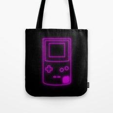 Neon Game Boy Color Tote Bag