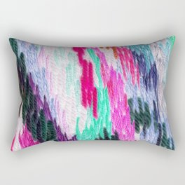 embroidered space Rectangular Pillow