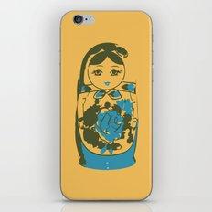 matryoshka dolls iPhone & iPod Skin