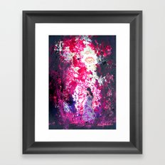 dark roses Framed Art Print