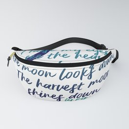 I raise my eyes to see the heavens - Les Miserables Fanny Pack
