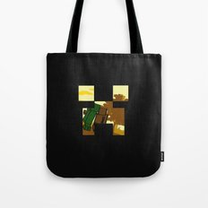 Friends forever (minecraft edition)  Tote Bag