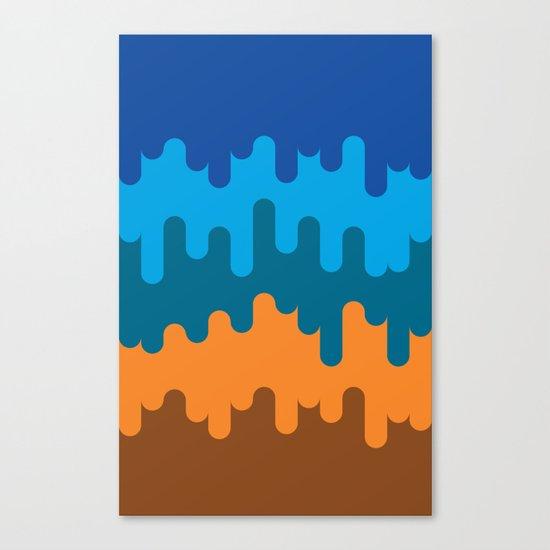 British Summer Canvas Print
