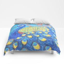 Peacock: Grace Under Fire Comforters