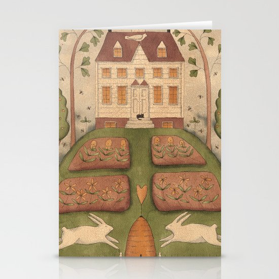 Bunny Hill Stationery Cards