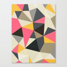 Lemonade Stand Tris Canvas Print