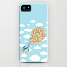 Up! On Clouds Slim Case iPhone (5, 5s)