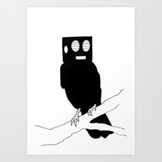 Wandaa Bird Art Print