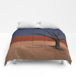 Haunting Deadvlei Namibia Africa Comforters