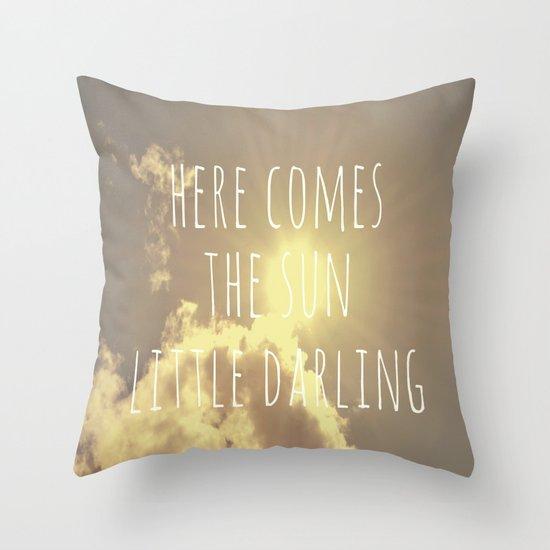 Little Darling  Throw Pillow
