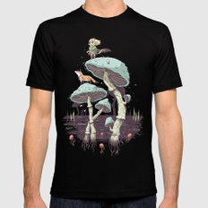 Elven Ranger Black SMALL Mens Fitted Tee