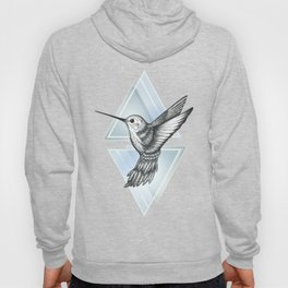 Hummingbird - Blue Hoody