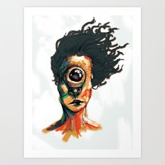 Depth Perception  Art Print